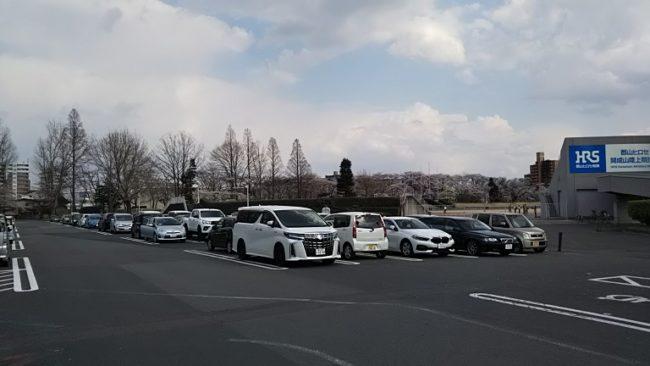 駐車場全体の写真