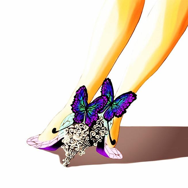 胡蝶しのぶのハイヒール