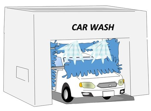 5分で驚くほどピカピカに!ガソリンスタンドのドライブスルー洗車機の使い方は超簡単!