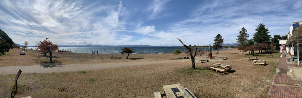 日本で4番目に大きい湖、猪苗代湖。冬は白鳥にエサもあげられる最高の観光地です!【福島県】