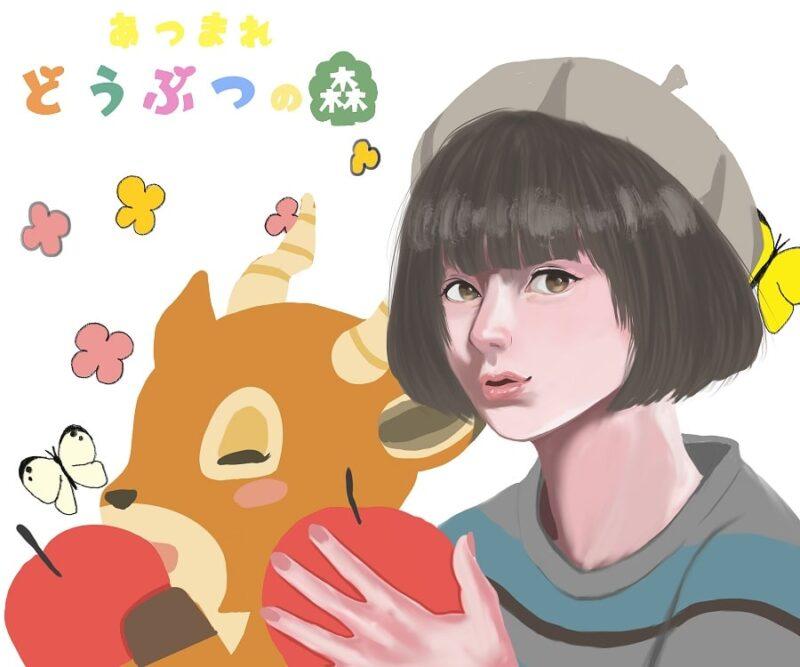 何もないから何でもできるゲーム『あつまれどうぶつの森』|女の子キャラをリアルっぽく描写!