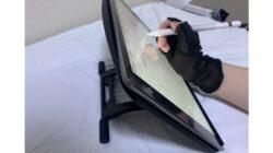 これはイイ!『Parblo PR100 タブレットスタンド』は何十段階もの細かい角度調整が可能!